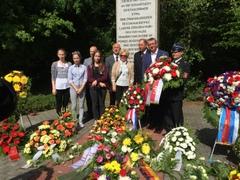 Polnische Delegation aus der Gemeinde Jaraczewo zum Besuch in Zöschen