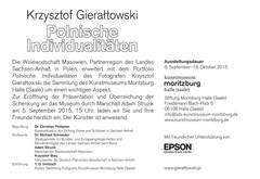 Krzysztof Gierałtowski - Polnische Individualitäten