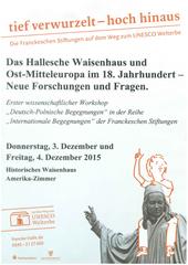 Erste Deutsch-Polnischen Begegnungen in den Franckeschen Stiftungen